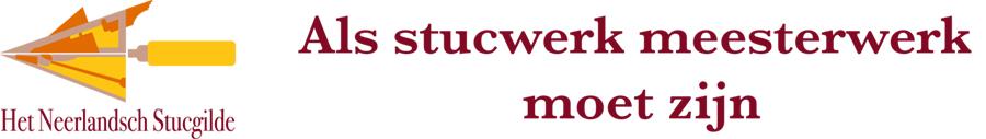 Het Neerlandsch Stucgilde Logo